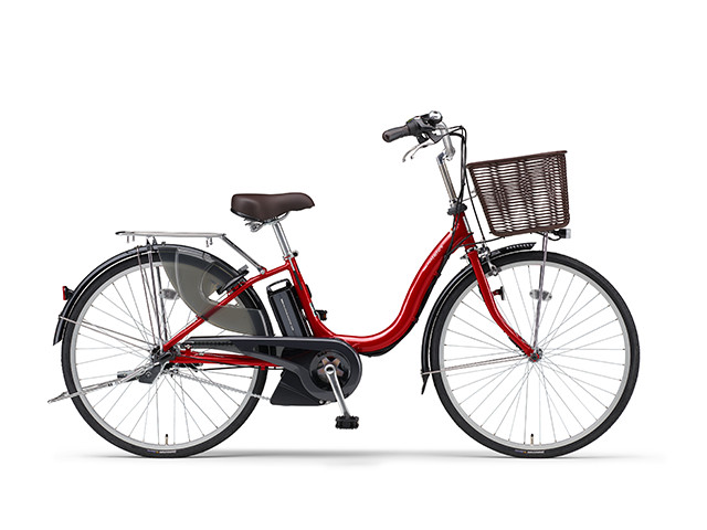 電動自転車 ヤマハ YAMAHA ナチュラM26 X0TF01-0241 26インチ レッド 赤 電動アシスト自転車 格安 激安 電動ママチャリ 軽量 子供乗せ設置可