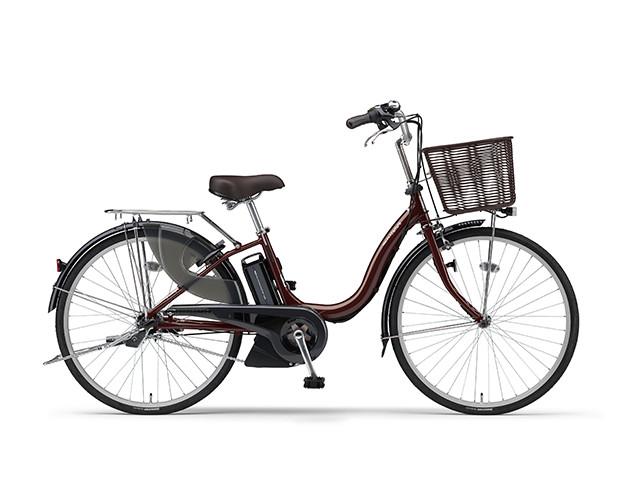 電動自転車 ヤマハ YAMAHA ナチュラM24 X0TG01-0396 24インチ レッド 電動アシスト自転車 格安 激安 電動ママチャリ 軽量 子供乗せ設置可