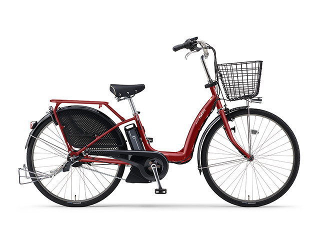 電動自転車 ヤマハ YAMAHA Raffini パス ラフィーニ 26インチ レッド 赤 電動アシスト自転車 格安 激安 電動ママチャリ 軽量 子供乗せ設置可