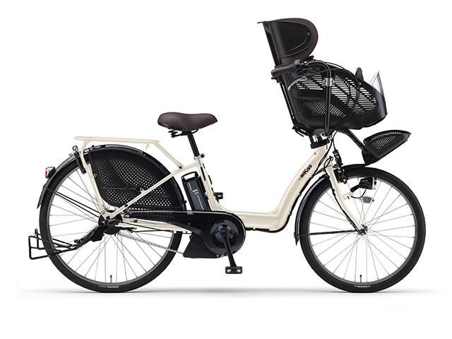 電動自転車 ヤマハ YAMAHA PAS Kiss パス キッス 26インチ X0TJ01-0434 クリームアイボリー 電動アシスト自転車 格安 激安 電動ママチャリ 軽量 子供乗せ設置可