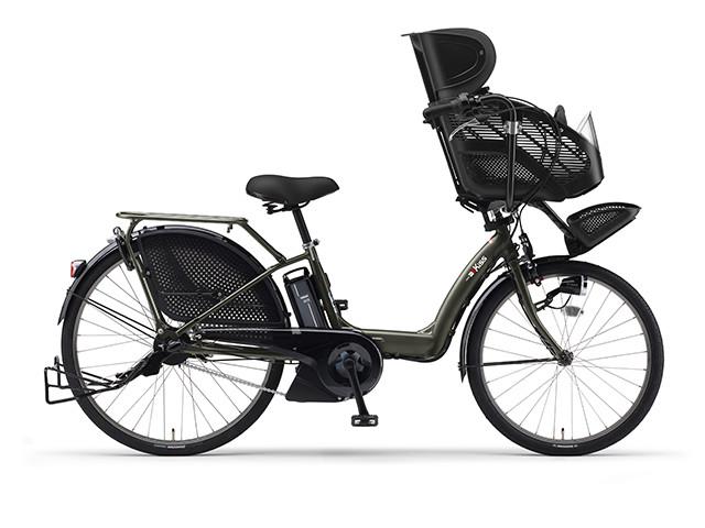 電動自転車 ヤマハ YAMAHA PAS Kiss パス キッス 26インチ X0TJ01-0434 グリーン 緑 電動アシスト自転車 格安 激安 電動ママチャリ 軽量 子供乗せ設置可