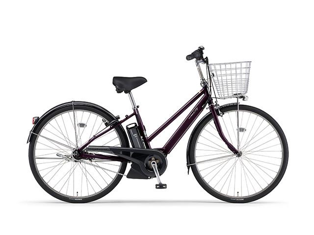 電動自転車 ヤマハ YAMAHA CITY-S5 パス シティ エス ファイブ 27インチ X0TL01-0459 クロスボルドー 紫 電動アシスト自転車 格安 激安 電動ママチャリ 軽量 子供乗せ設置可