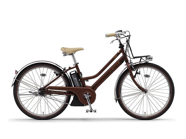 電動自転車 ヤマハ YAMAHA PAS Mina パス ミナ 26インチ X0TN01-0476 シルキーブロンズ 電動アシスト自転車 格安 激安 電動ママチャリ 軽量 子供乗せ設置可