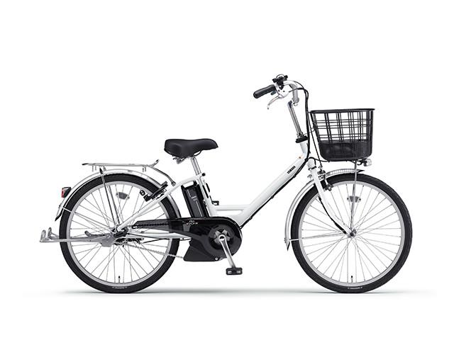 電動自転車 ヤマハ YAMAHA PAS SION-V パス 24インチ 電動アシスト自転車 格安 激安 電動ママチャリ 軽量 低床フレーム 17 SION-V シオンブイ X0TX01-0454 ホワイト ブルームーンホワイト
