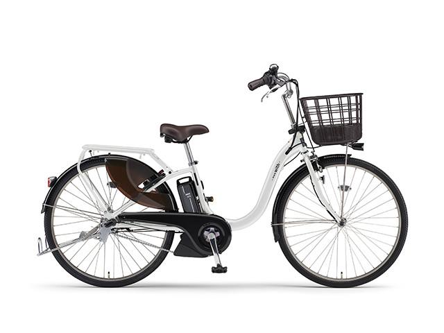 電動自転車 ヤマハ YAMAHA PAS With パス 26インチ 電動アシスト自転車 格安 激安 電動ママチャリ 2018年モデル 軽量 X0U501-010D ピュアパールホワイト 白
