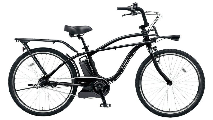 電動自転車 パナソニック Panasonic BP02 KE-ELZC63 B 26インチ ブラック 黒 電動アシスト自転車 ビームス BEAMS 格安 激安 ビーチクルーザー風 電動自転車 パナソニック 電動アシスト自転車 電動ママチャリ BAA