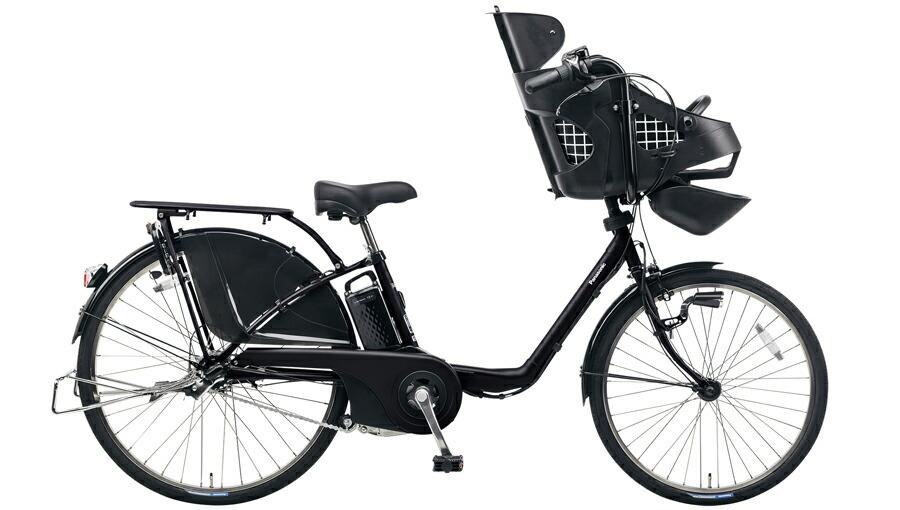 電動自転車 パナソニック Panasonic ギュットDX KE-ELMD633 B2 前輪22インチ 後輪26インチ ブラック 黒 電動アシスト自転車 格安 激安 電動自転車 電動アシスト自転車 電動ママチャリ BAA 軽量 子供乗せ設置可 3人乗り可