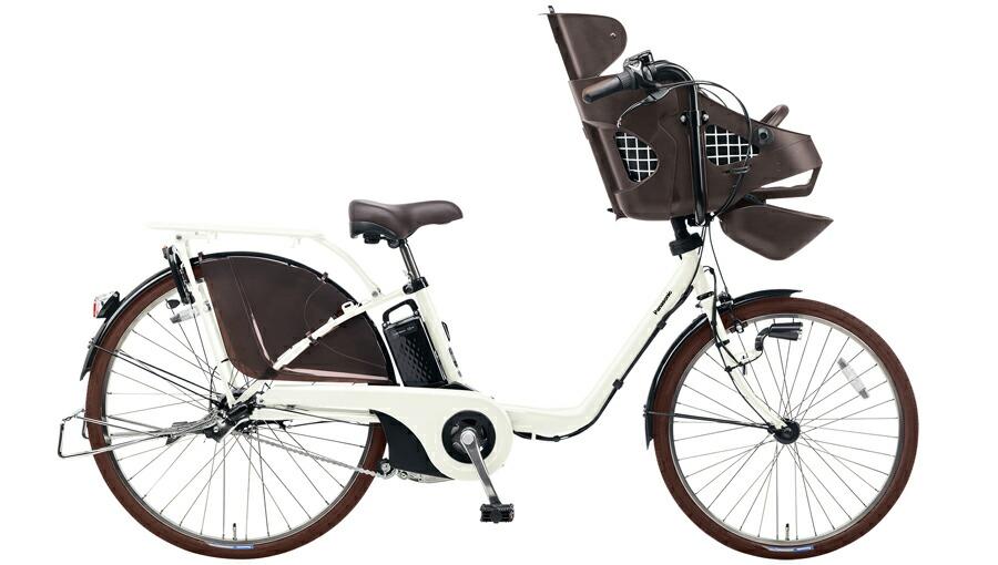 電動自転車 パナソニック Panasonic ギュットDX KE-ELMD633 B2 前輪22インチ 後輪26インチ オフホワイト白 電動アシスト自転車 格安 激安 電動自転車 電動アシスト自転車 電動ママチャリ BAA 軽量 子供乗せ設置可 3人乗り可
