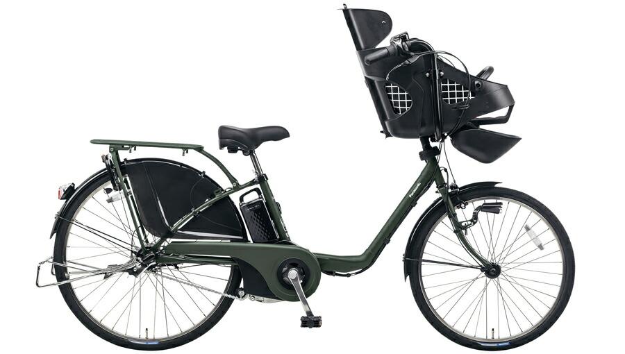 電動自転車 パナソニック Panasonic ギュットDX KE-ELMD633 B2 前輪22インチ 後輪26インチ マットダークグリーン 緑 電動アシスト自転車 格安 激安 電動自転車 電動アシスト自転車 BAA 軽量 子供乗せ設置可 3人乗り可 おしゃれ おしゃれ