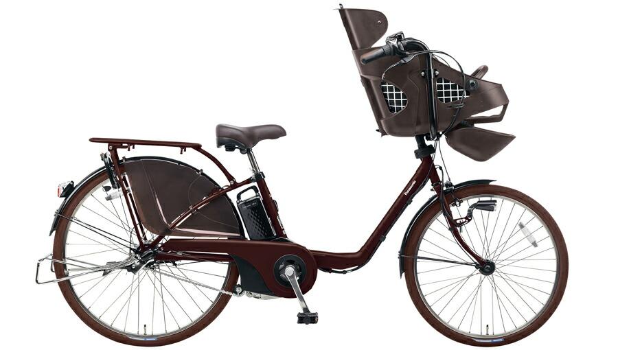 電動自転車 パナソニック Panasonic ギュットDX KE-ELMD633 B2 前輪22インチ 後輪26インチ ビターブラウン 茶色 電動アシスト自転車 格安 激安 電動自転車 電動アシスト自転車 電動ママチャリ BAA 軽量 子供乗せ設置可 3人乗り可