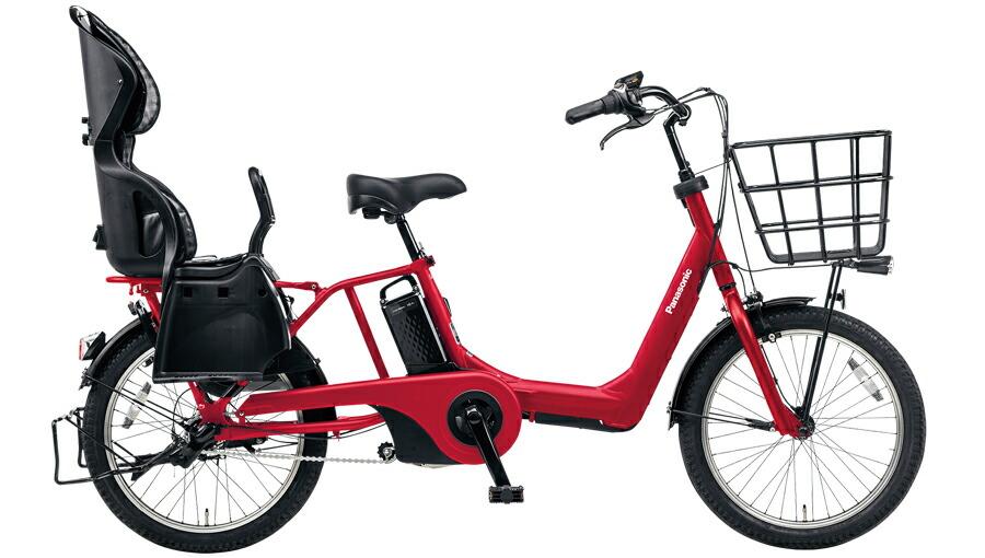 電動自転車 パナソニック Panasonic ギュットアニーズDX KE-ELMA032 B 20インチ ロイヤルレッド 赤 電動アシスト自転車 格安 激安 電動自転車 電動アシスト自転車 電動ママチャリ BAA 軽量 子供乗せ ギュットアニーズDX