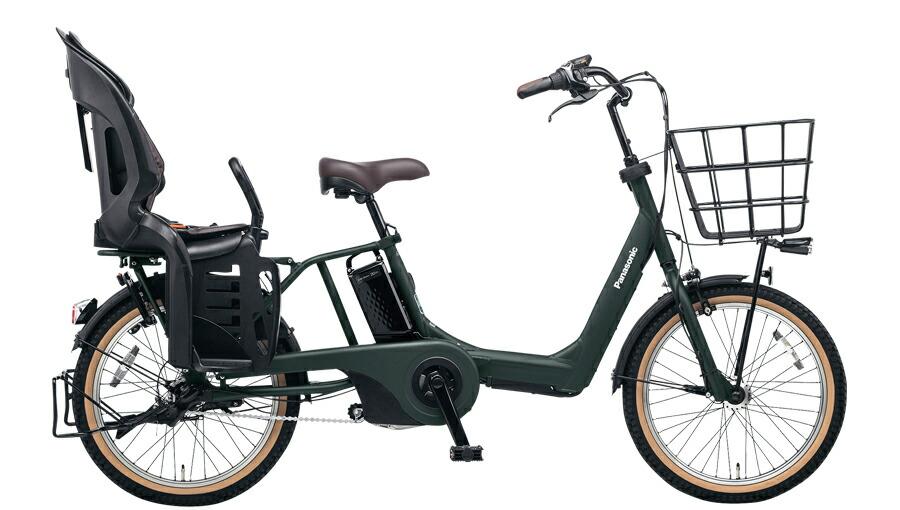電動自転車 パナソニック Panasonic ギュット・アニーズ・EX KE-ELAE03 B 20インチ マットディープグリーン カーキ 電動アシスト自転車 格安 激安 電動自転車 電動アシスト自転車 BAA 軽量 子供乗せ ギュットアニーズEX おしゃれ おしゃれ