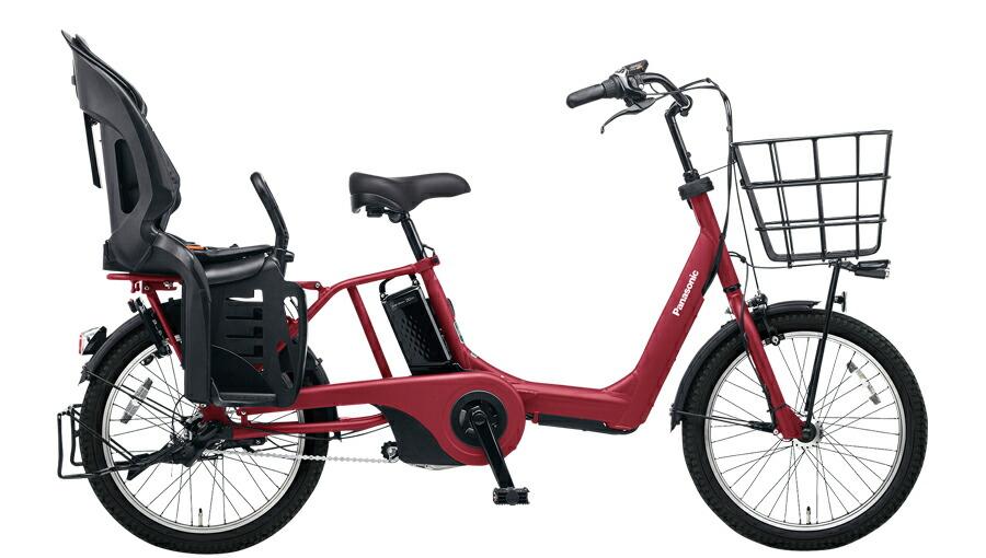 電動自転車 パナソニック Panasonic ギュット・アニーズ・EX KE-ELAE03 B 20インチ マットチェリーレッド 赤 電動アシスト自転車 格安 激安 電動自転車 電動アシスト自転車 電動ママチャリ BAA 軽量 子供乗せ ギュットアニーズEX