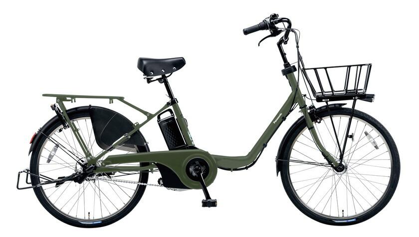 電動自転車 パナソニック Panasonic ギュットステージ KE-ELMU23 R 22インチ マットカーキ グリーン カーキ 電動アシスト自転車 格安 激安 電動自転車 電動アシスト自転車 BAA 軽量 子供乗せ設置可 3人乗り可