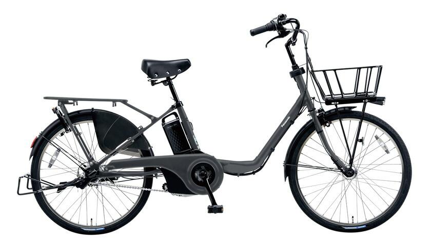 電動自転車 パナソニック Panasonic ギュットステージ KE-ELMU23 R 22インチ マットダークグレー 灰色 電動アシスト自転車 格安 激安 電動自転車 電動アシスト自転車 BAA 軽量 子供乗せ設置可 3人乗り可 おしゃれ おしゃれ