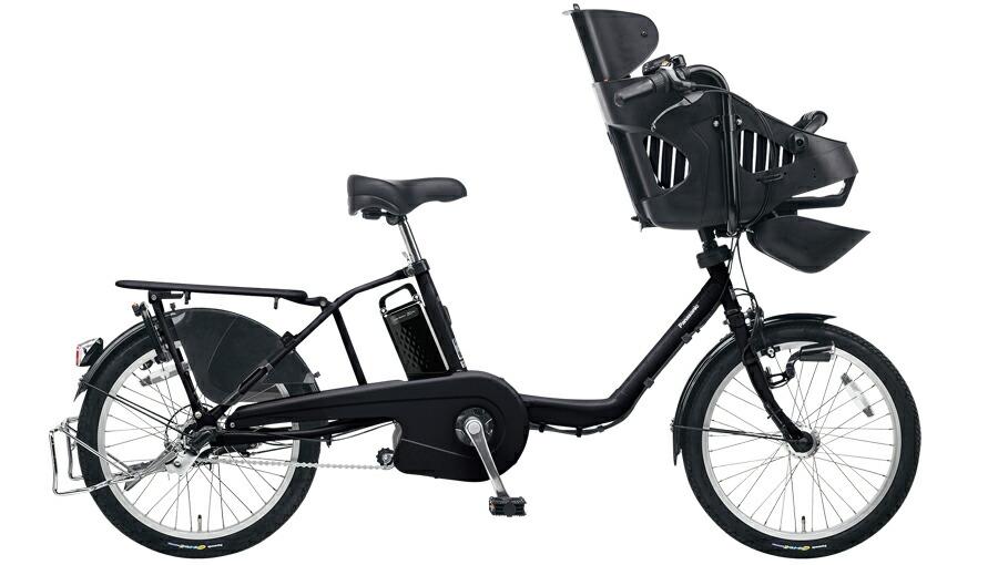 電動自転車 パナソニック Panasonic ギュットミニEX KE-ELM03 R 20インチ ブラック 黒 電動アシスト自転車 格安 激安 電動自転車 電動アシスト自転車 電動ママチャリ BAA 軽量 子供乗せ設置可 3人乗り可