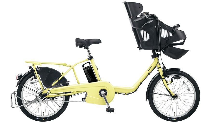 電動自転車 パナソニック Panasonic ギュットミニEX KE-ELM03 R 20インチ パウダーイエロー 黄色 電動アシスト自転車 格安 激安 電動自転車 電動アシスト自転車 電動ママチャリ BAA 軽量 子供乗せ設置可 3人乗り可