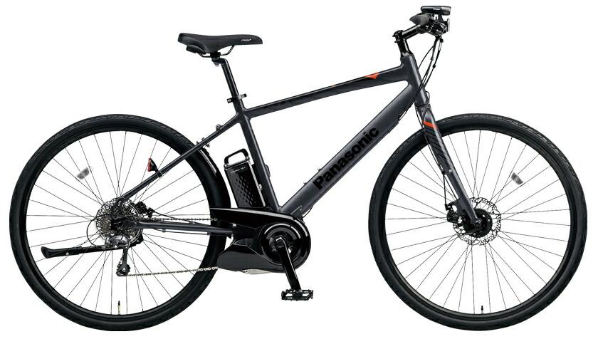 電動自転車 パナソニック Panasonic ジェッター KE-ELHC44 B 700c ブラック 黒 フレームサイズ440mm 電動アシスト自転車 格安 激安 電動自転車 パナソニック 電動アシスト自転車 電動 BAA 軽量 アルミ クロスバイク