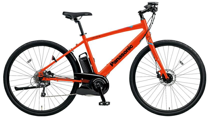 電動自転車 パナソニック Panasonic ジェッター KE-ELHC44 B 700c マットバーニングリーブス 赤 フレームサイズ440mm 電動アシスト自転車 格安 激安 電動自転車 パナソニック 電動アシスト自転車 電動 BAA 軽量 アルミ レッド クロスバイク