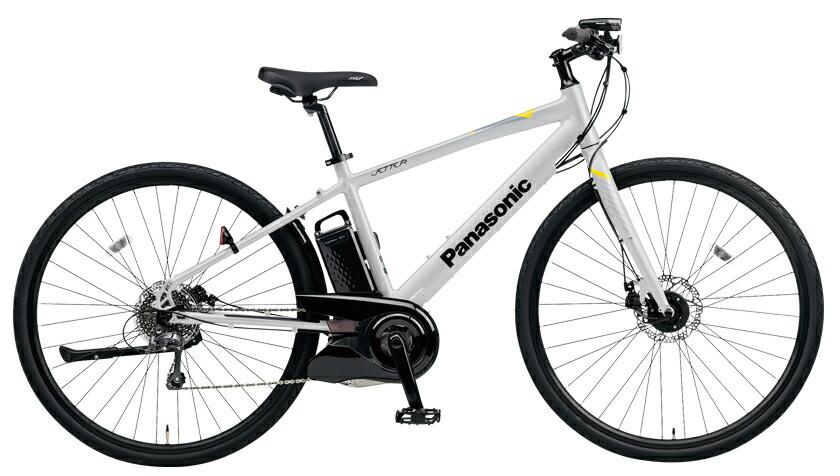 電動自転車 パナソニック Panasonic ジェッター KE-ELHC44 B 700c マットグラウディグレー 灰色 フレームサイズ440mm 電動アシスト自転車 格安 激安 電動自転車 パナソニック 電動アシスト自転車 電動 BAA 軽量 アルミ クロスバイク