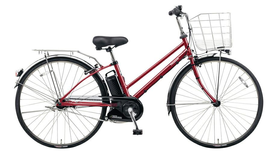 電動自転車 パナソニック Panasonic ティモ DX KE-ELDT753 B 27インチ フレアレッドパール レッド 赤 電動アシスト自転車 格安 激安 電動自転車 電動アシスト自転車 電動ママチャリ BAA 通学 LEDオートライト