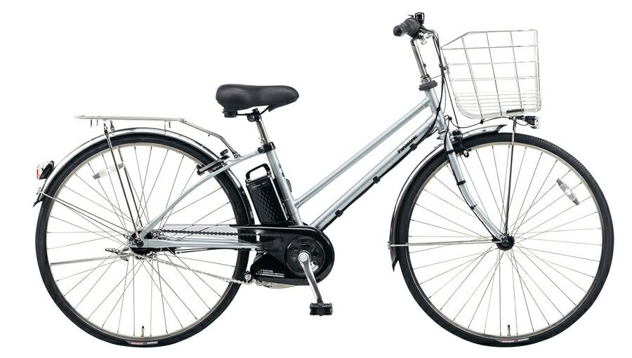 電動自転車 パナソニック Panasonic ティモ・DX KE-ELDT753 S2 27インチ モダンシルバー シルバー 電動アシスト自転車 格安 激安 電動自転車 電動アシスト自転車 電動ママチャリ BAA 通学 LEDオートライト