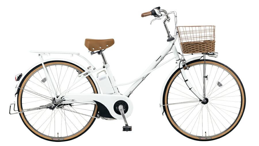 電動自転車 パナソニック Panasonic ティモ F KE-ELTF63 F 26インチ ホワイト 白 電動アシスト自転車 格安 激安 電動自転車 電動アシスト自転車 電動ママチャリ BAA おおきなおしゃれかご 通学