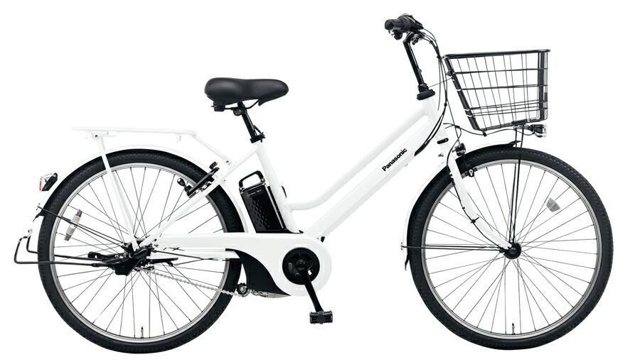 電動自転車 パナソニック Panasonic ティモ・S KE-ELST632 B 26インチ アクティブホワイト 白 電動アシスト自転車 格安 激安 電動自転車 電動アシスト自転車 電動ママチャリ BAA 通学 大きなかご
