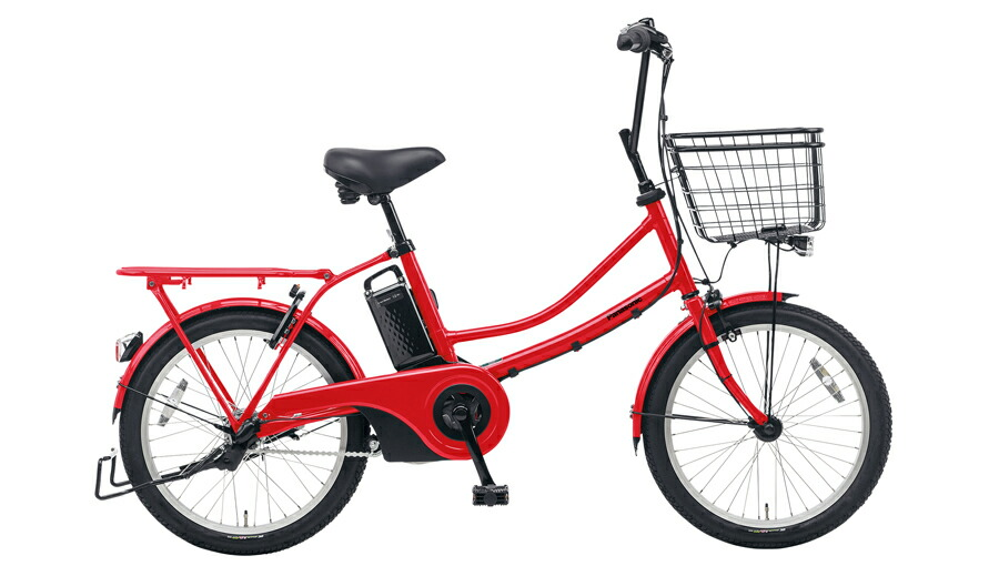電動自転車 パナソニック Panasonic ティモ スタイル KE-ELWL03 B 20インチ ロイヤルレッド 赤 電動アシスト自転車 格安 激安 電動自転車 電動アシスト自転車 電動ママチャリ BAA 通学