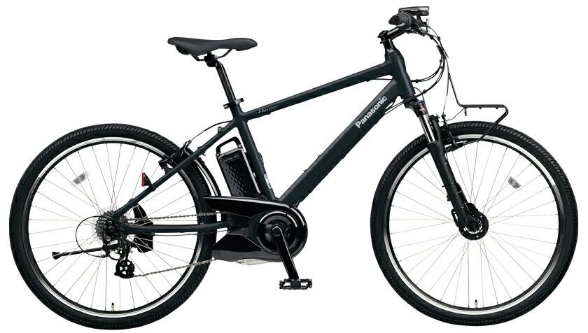 電動自転車 パナソニック Panasonic ハリヤ KE-ELH242 B 26インチ ブラック 黒 電動アシスト自転車 格安 激安 電動自転車 パナソニック 電動アシスト自転車 電動 BAA 軽量 アルミ マウンテンバイク MTB