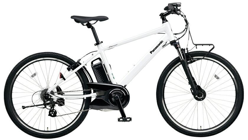 電動自転車 パナソニック Panasonic ハリヤ KE-ELH242 B 26インチ クリスタルホワイト 白 電動アシスト自転車 格安 激安 電動自転車 パナソニック 電動アシスト自転車 電動 BAA 軽量 アルミ マウンテンバイク MTB