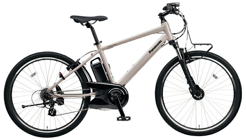 電動自転車 パナソニック Panasonic ハリヤ KE-ELH242 B 26インチ ストーングレー 灰色 電動アシスト自転車 格安 激安 電動自転車 パナソニック 電動アシスト自転車 電動 BAA 軽量 アルミ マウンテンバイク MTB