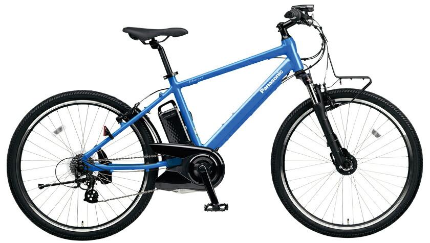 電動自転車 パナソニック Panasonic ハリヤ KE-ELH242 B 26インチ フラッシュアクア 青色 電動アシスト自転車 格安 激安 電動自転車 パナソニック 電動アシスト自転車 電動 BAA 軽量 アルミ ブルー マウンテンバイク MTB