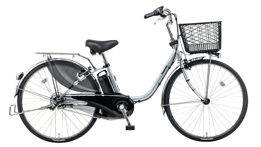 電動自転車 パナソニック Panasonic ビビ DX KE-ELD633 N 26インチ ラプターグレー グレー 電動アシスト自転車 格安 激安 電動自転車 電動ママチャリ 電動アシスト自転車 大きなカゴ BAA