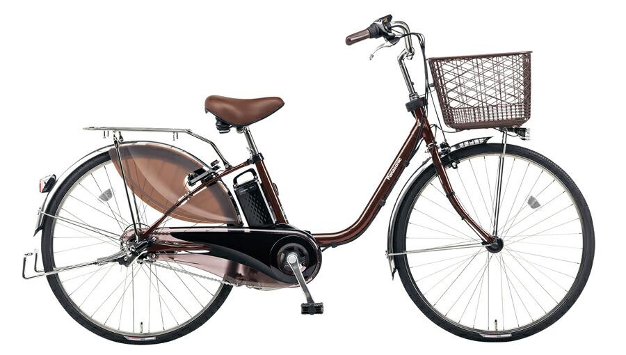 電動自転車 パナソニック Panasonic ビビ DX KE-ELD433 T 24インチ チョコブラウン ブラウン 電動アシスト自転車 格安 激安 電動自転車 電動ママチャリ 電動アシスト自転車 大きなカゴ BAA