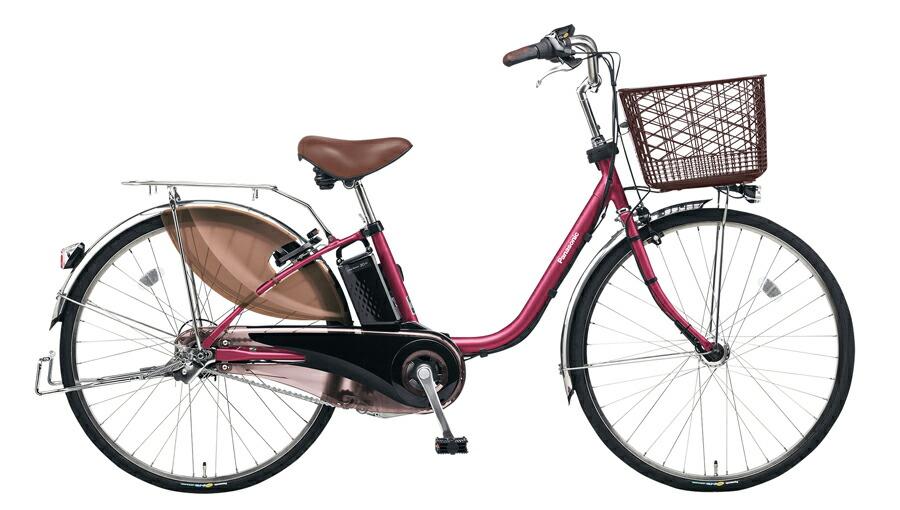 電動自転車 パナソニック Panasonic ビビ・EX KE-ELE633 P 26インチ レディッシュパープル パープル 紫 電動アシスト自転車 格安 激安 電動自転車 電動ママチャリ 電動アシスト自転車 パンクしにくいタイヤ
