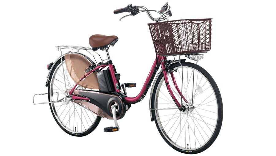 電動自転車 パナソニック Panasonic ビビ・EX KE-ELE433 P 24インチ レディッシュパープル パープル 紫 電動アシスト自転車 格安 激安 電動自転車 電動ママチャリ 電動アシスト自転車 パンクしにくいタイヤ