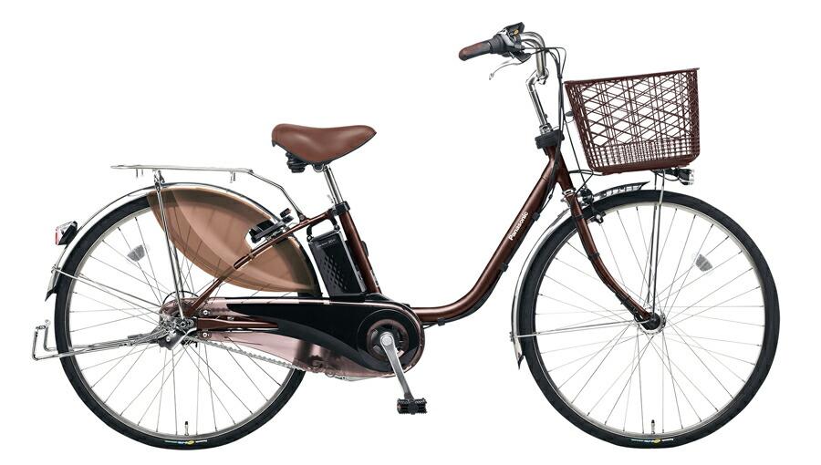 電動自転車 パナソニック Panasonic ビビ・EX KE-ELE433 T2 24インチ ビターブラウン ブラウン 電動アシスト自転車 格安 激安 電動自転車 電動ママチャリ 電動アシスト自転車 パンクしにくいタイヤ