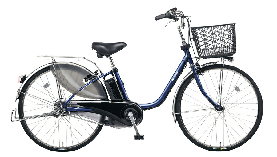 電動自転車 パナソニック Panasonic ビビ・EX KE-ELE633 V 26インチ インディゴブルーメタリック ブルー 青 電動アシスト自転車 格安 激安 電動自転車 電動ママチャリ 電動アシスト自転車 パンクしにくいタイヤ