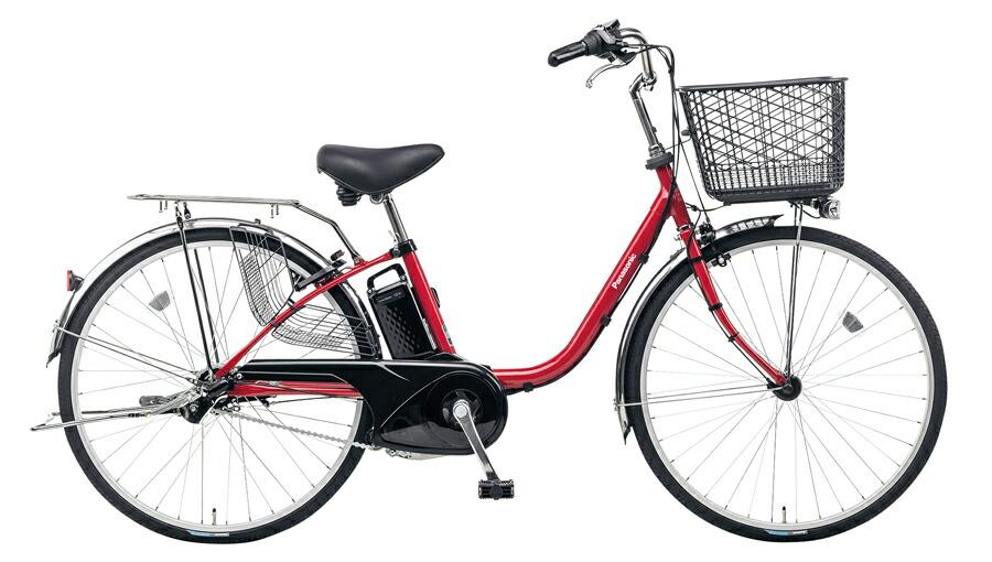 電動自転車 パナソニック Panasonic ビビ FX KE-ELF43 R 24インチ レッド 赤 電動アシスト自転車 格安 激安 電動自転車 電動ママチャリ 電動アシスト自転車 BAA