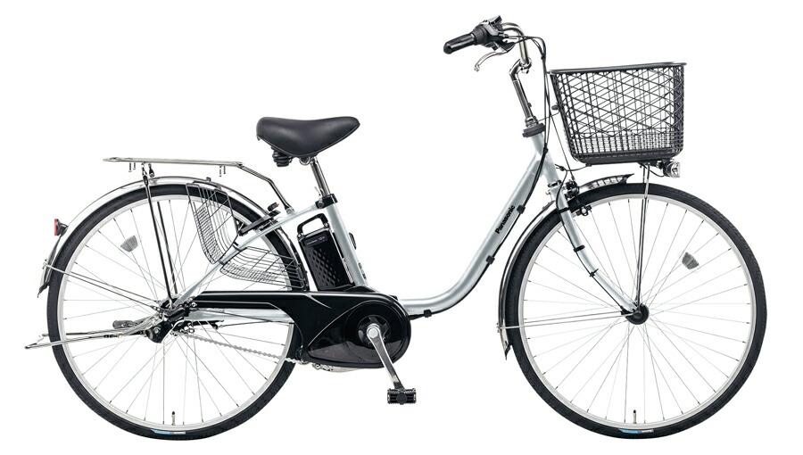 電動自転車 パナソニック Panasonic ビビ FX KE-ELF43 S 24インチ モダンシルバー シルバー 電動アシスト自転車 格安 激安 電動自転車 電動ママチャリ 電動アシスト自転車 BAA