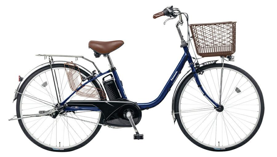 電動自転車 パナソニック Panasonic ビビ FX KE-ELF43 V 24インチ USブルー ブルー 青 電動アシスト自転車