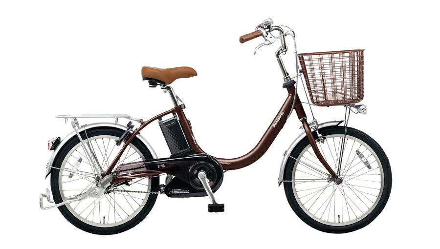 電動自転車 パナソニック Panasonic ビビ LS KE-ELLS03 M 20インチ チョコブラウン 茶色 電動アシスト自転車 格安 激安 電動自転車 電動アシスト自転車 電動ママチャリ BAA 軽量