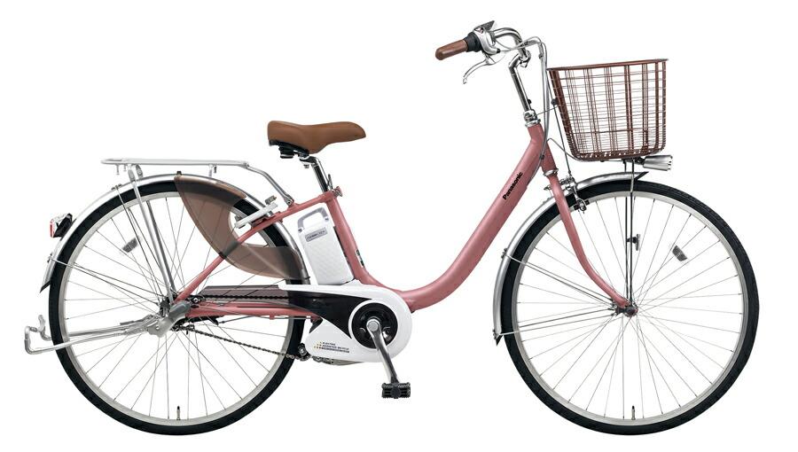 電動自転車 パナソニック Panasonic ビビ LU KE-ELLU43 M 24インチ マットピンク ピンク 電動アシスト自転車 格安 激安 電動自転車 電動アシスト自転車 電動ママチャリ BAA 軽量