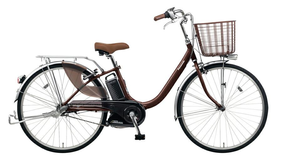 電動自転車 パナソニック Panasonic ビビ LU KE-ELLU41 M 24インチ チョコブラウン 茶色 電動アシスト自転車 格安 激安 電動自転車 電動アシスト自転車 電動ママチャリ BAA 軽量