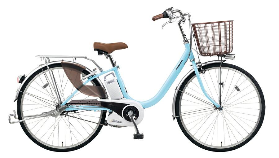 電動自転車 パナソニック Panasonic ビビ LU KE-ELLU43 M 24インチ エアリーブルー 青色 電動アシスト自転車 格安 激安 電動自転車 電動アシスト自転車 電動ママチャリ BAA 軽量