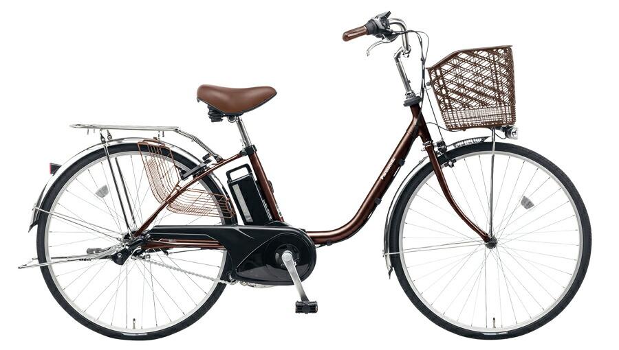 電動自転車 パナソニック Panasonic ビビ TX KE-ELTX432 T 24インチ チョコブラウン ブラウン 電動アシスト自転車 格安 激安 電動自転車 電動ママチャリ 電動アシスト自転車 BAA