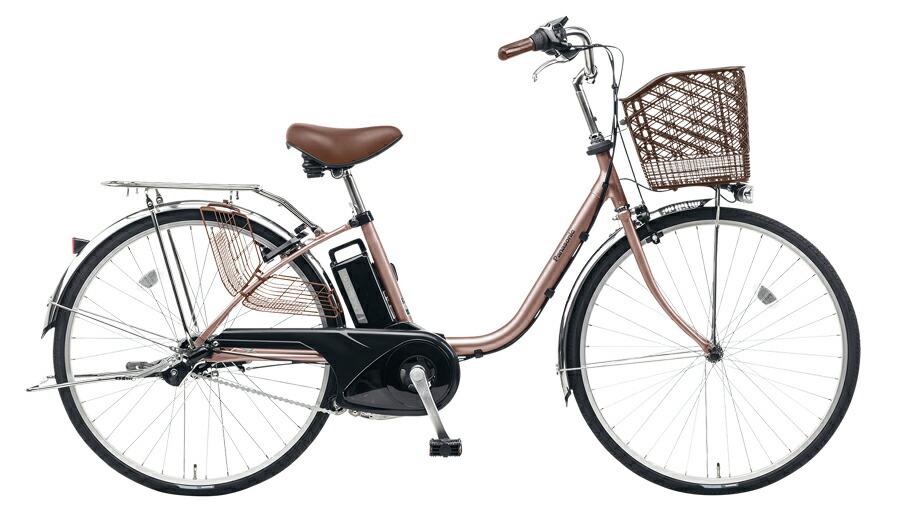 電動自転車 パナソニック Panasonic ビビ TX KE-ELTX432 T2 24インチ カッパーメタリック ピンク 電動アシスト自転車 格安 激安 電動自転車 電動ママチャリ 電動アシスト自転車 BAA