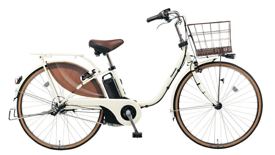 電動自転車 パナソニック Panasonic ビビ・スタイル KE-ELDS633 S 26インチ アイボリーホワイト ホワイト 電動アシスト自転車 格安 激安 電動自転車 電動ママチャリ 電動アシスト自転車 BAA 大きなかご