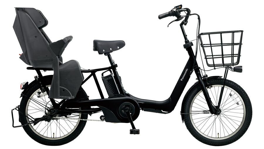 電動自転車 パナソニック Panasonic ギュット アニーズ DX 20インチ 電動アシスト自転車 2018年モデル BE-ELA03B マットジェットブラック 黒